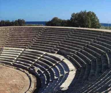 Amphitheater bei Salamis